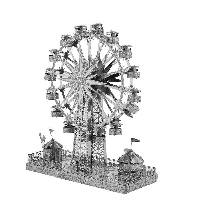 3D Metal Modell Pussel Multi-Style DIY Laser Cut Pussel Jigsaw Kit - Spel och pussel - Foto 5