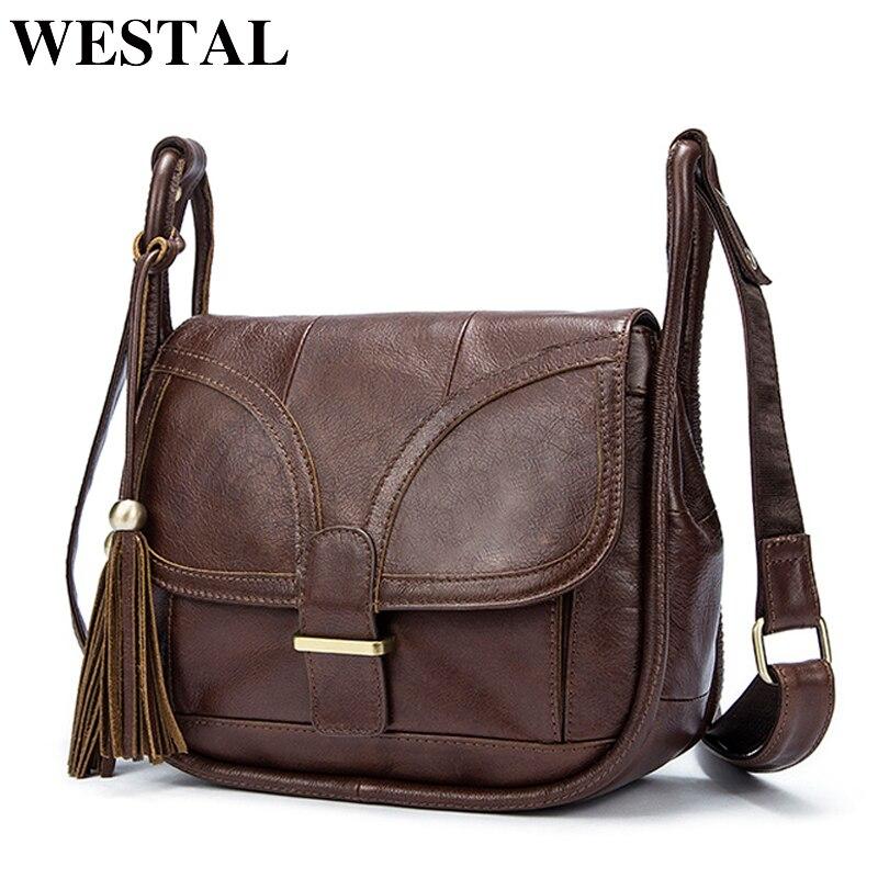 WESTAL роскошные сумки женские сумки дизайнер сумка натуральная кожа crossbody сумки для женщин кожаная сумка женские