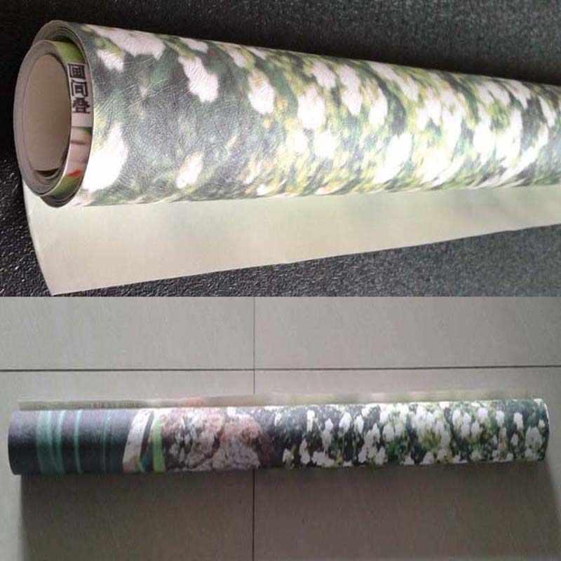 На заказ настенная бумага современная простая 3D окно сад маленькая река Цветок Трава Фреска гостиная спальня фото обои