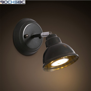 Modern Minimalist Wall Lamp Entrance Aisle Bar Cafe Wall Sconce Stairs Industrial Iron Wall Lighting Fixture