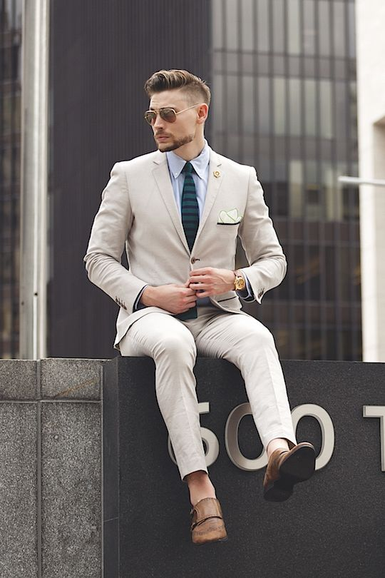 2017 Latest Coat Pant Designs Ivory Formal Men Suit Slim Fit Outfit