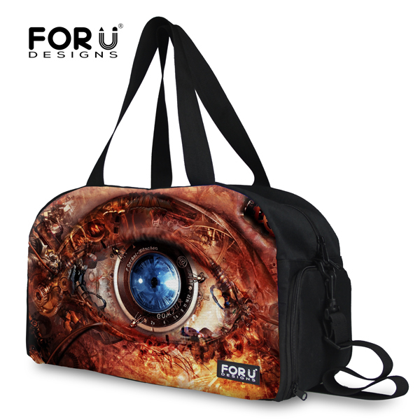 Brand Multi-function Mens Travel Bags Big Eyes Journey Bags With Strap Large Capacity Organizer Travel Duffle Bag