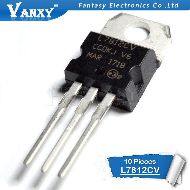10PCS L7812CV TO220 L7812 TO-220 7812CV New And Original IC