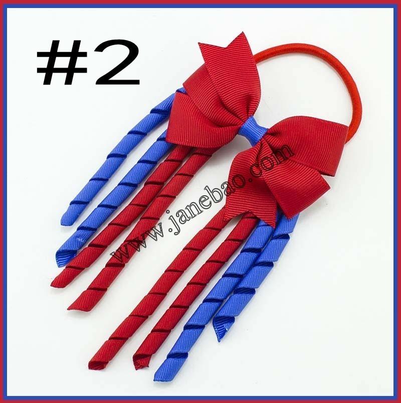 free shipping 30pcs 3 5 X6 funky Korker Hair Bows Colorful Korkers pinwheel Korker Rainbow Bows