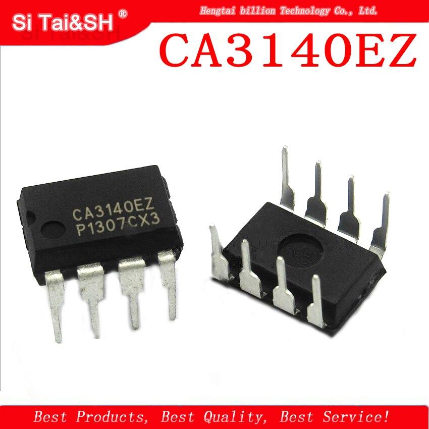 10PCS  CA3140EZ CA3140 CA3140E  DIP8   New Operational Amplifier