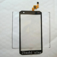 Discovery V9 4 5inch Touch Screen Panel Digitizer Accessories For Discovery V9 Outdoor Smartphone Black Free