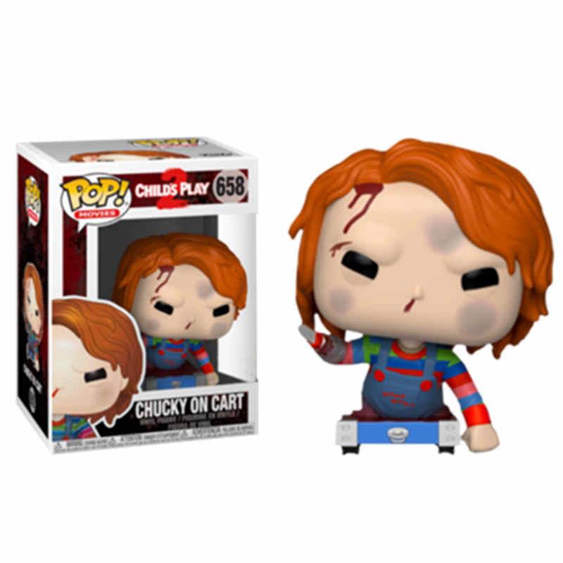 FUNKO POP Movie Stephen King's It's Child's Play Saw, крик пеннивайз Чаки V для вендетты, экшн-фигурка, игрушки для детей на Рождество
