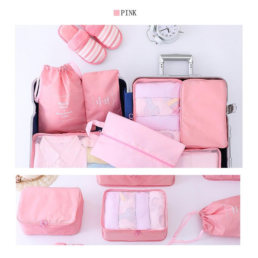 WOOFONE Travel Bag Förvaringsväska Set 7 Pieces Storage Set Stor - Väskor för bagage och resor - Foto 2