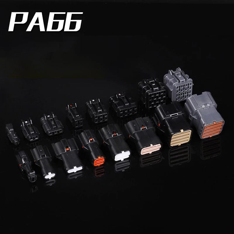 30 pcs PA66 1/2/3/4/6/8/14/16P Car connector Auto Wire harness connector 1.8 vehicle waterproof plug and socket terminal блейк пирс once cold