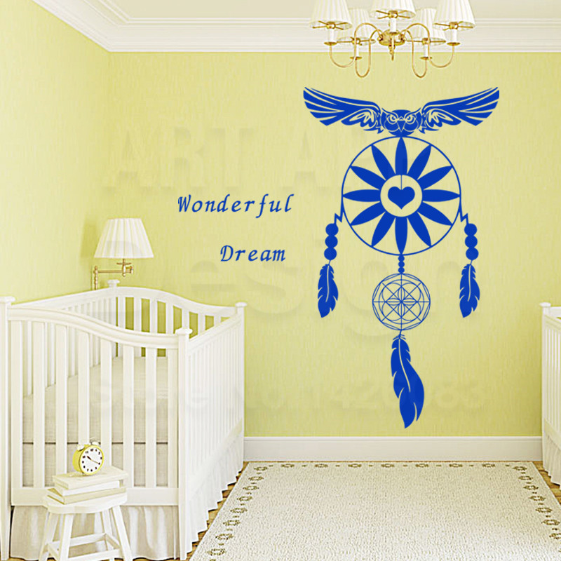 Art New Design house decor Vinyl Dream Catcher Wall Decals removable ...