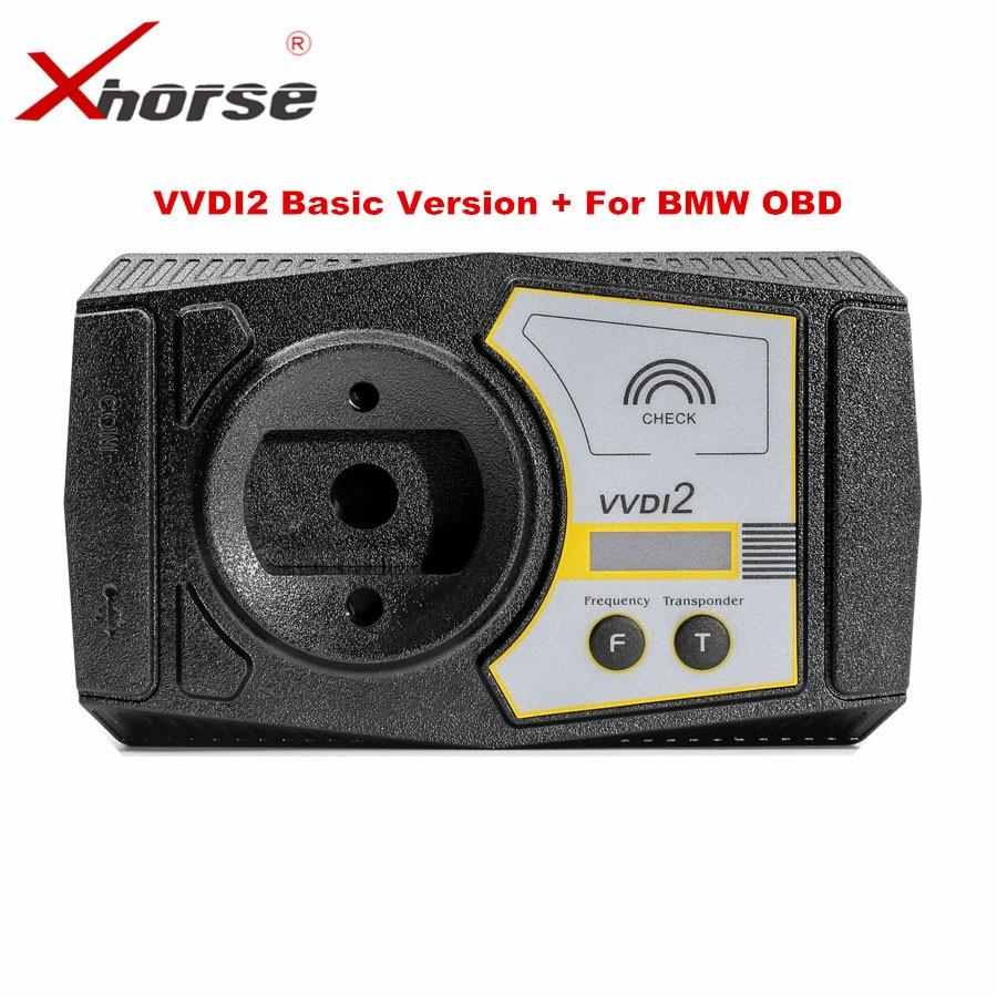 Оригинал Xhorse vvdi2 командир ключевые программиста с основной для BMW и OBD Функция S Недавно добавить для BMW FEM/ BDC Функция