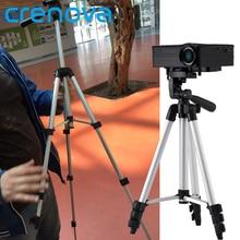 Crenova 1060 мм портативный Выдвижная Универсальный алюминиевый путешествия штатив Стенд для мини-проектор RD-805B GP70UP GP70 H80