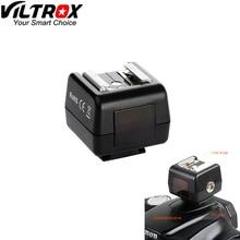 Viltrox FC 5P Heißer Schuh Drahtlose Optische Slave Flash Trigger Adapter PC Sync Sockel für Canon Nikon DSLR