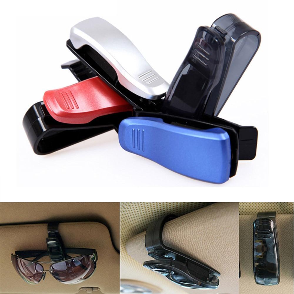 אביזרי רכב השמש לרכב מגן משקפי שמש משקפיים משקפיים קליפ אטב רכב בעל כרטיס אביזרי רכב (1)