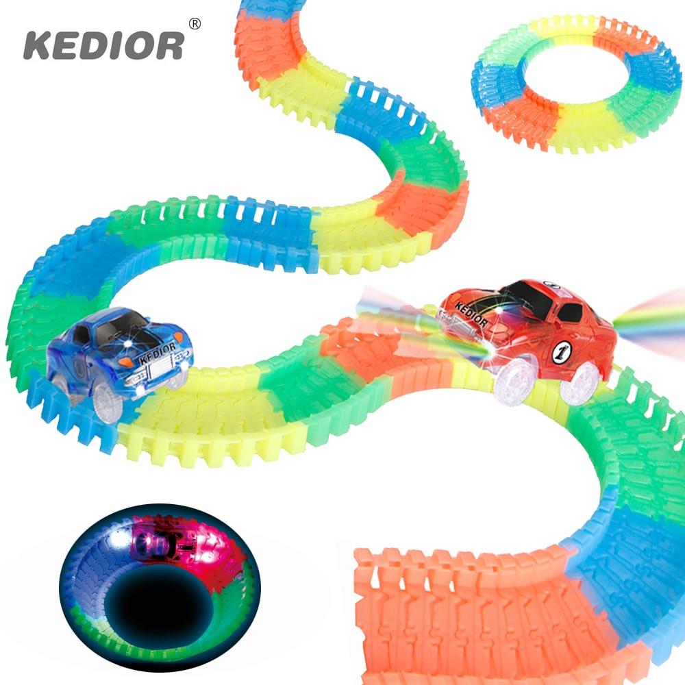 Race-Track-Car-Hot-Wheels-Glowing-DIY-Slot-Led-Battery-Electric-164-Model-Mini-Rail-Car-Toys-for-Children-Boys-Gift-2