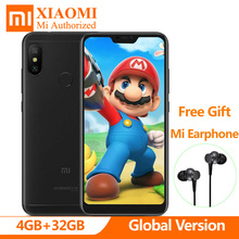 Global Version Xiaomi Mi A2 A 2 Lite 4GB RAM 32GB ROM Snapdragon 625 Octa Core Dual AI Camera 5.84″ Full Screen SmartPhone