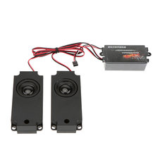 RC Car Truck Engine Sound Module Accelerator Linkage Set 10 Kinds Sounds(China)