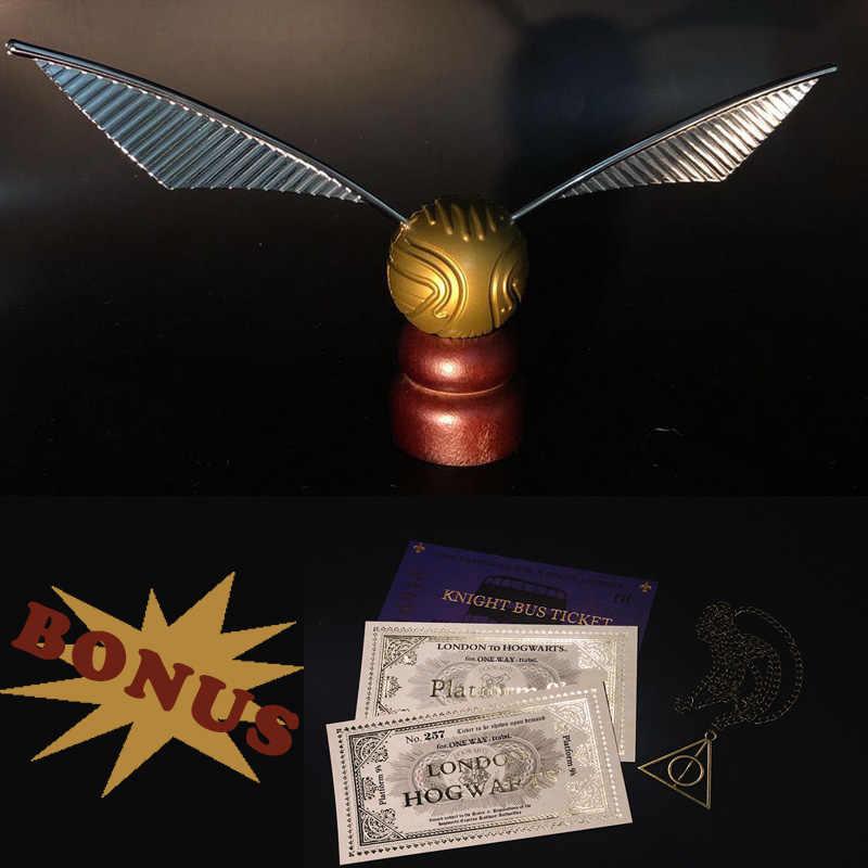 الذهب الكرة واش لعبة Hogwart المدرسة هاري الفيلم Quaffle Bludger حزب الديكور المشجعين معالج جمع تأثيري