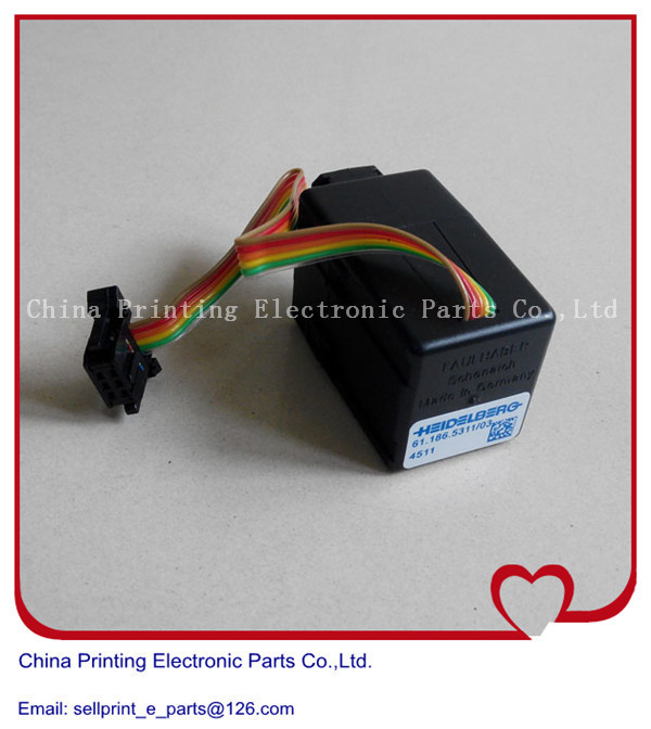 5 pieces a lot Heidelberg printing machine SM74 Ink motor, ink duct motor ink zone motor, heidelberg motor 5 pieces free shipping 71 112 1311 heidelberg motor original small motor for printing
