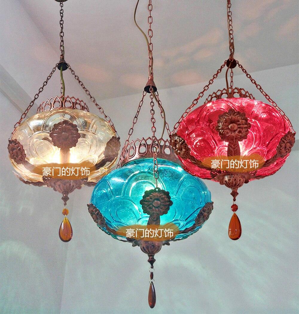 Mancoffee Southeast Asia Bohemia Glass Vintage Crystal Ceiling Light Lantern Bar tt tf ths 02b hybrid style black ver convoy asia exclusive