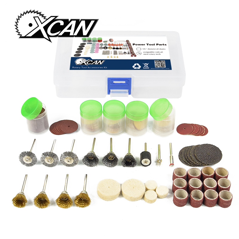 XCAN 183pcs/set Elactric mill sanding grinding polishing tool Dremel Rotary Tool Accessories Kit
