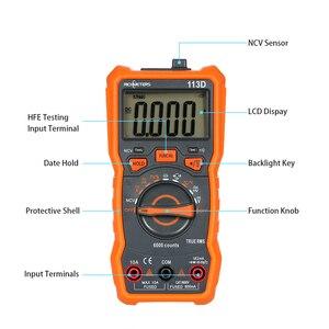 Image 2 - RICHMETERS Multimetro RM113D Multimetro Tester Multimetro digitale 6000 conta misurazione automatica della temperatura della tensione ca/cc