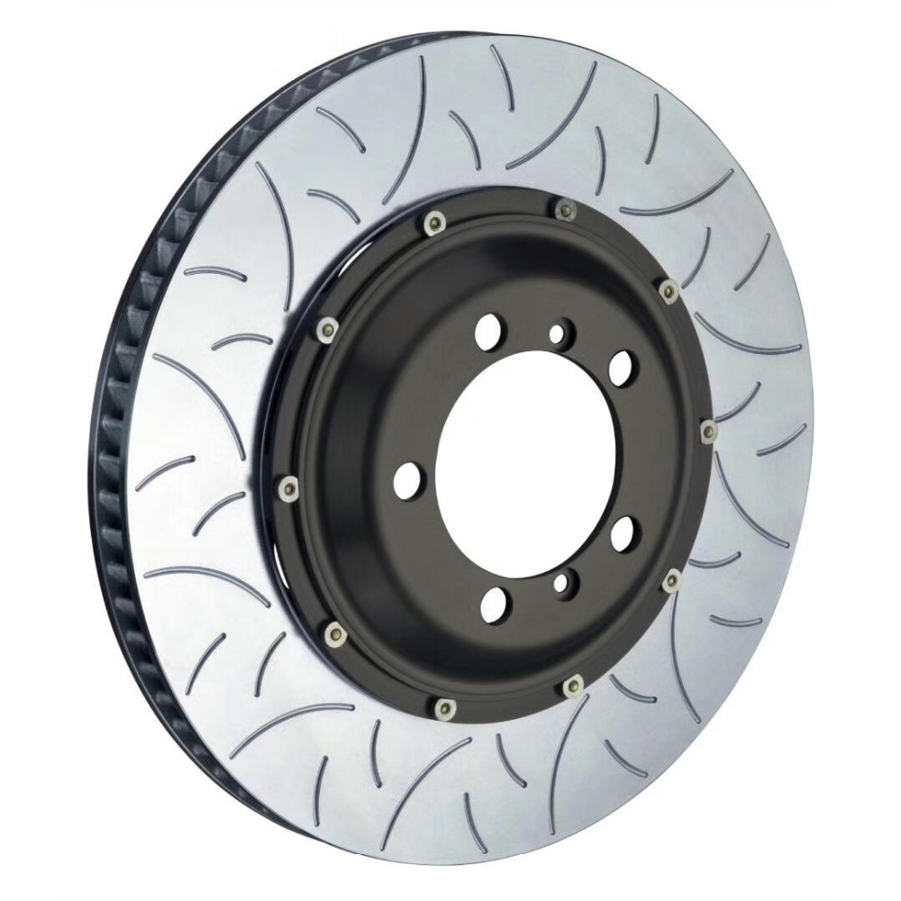 Jekit brake part 380*34mm floating disc with bell for brembo GT6 with 6 pots Caliper use for BMW E36 M3 S50 front car wheel 20