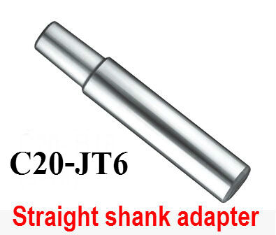 1PCS Drill Sleeve C20-JT6 Straight Shank Adapter  Drill Chuck Arbor Drilling Lathe Machine Capacity