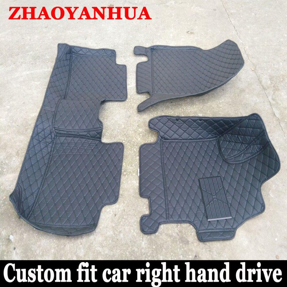 Rubber floor mats for glk350 - Custom Fit Right Hand Drive Car Floor Mats For Toyota Rav4 Prado Camry Highlander Corolla Crown