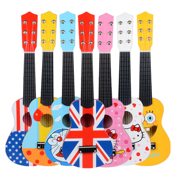 Ahşap çocuk Müzikal Oyuncaklar Mini Ahşap Küçük Gitar