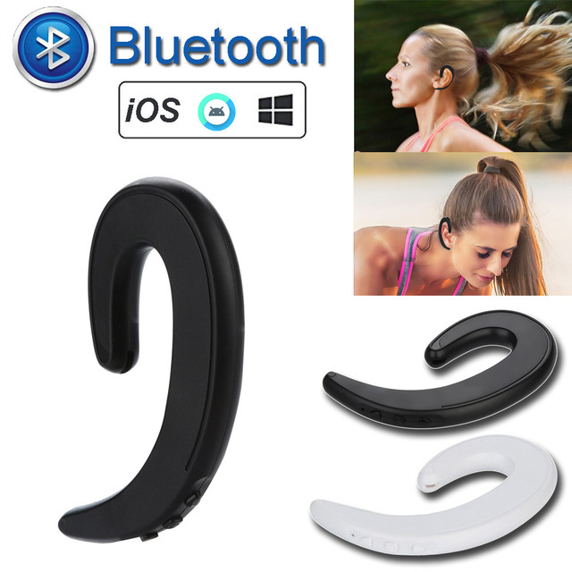 Wireless Bone Conduction Headset Bluetooth 4.2 Headset Earphone Stereo Headphone  Universal Driving Music Hands-free Business
