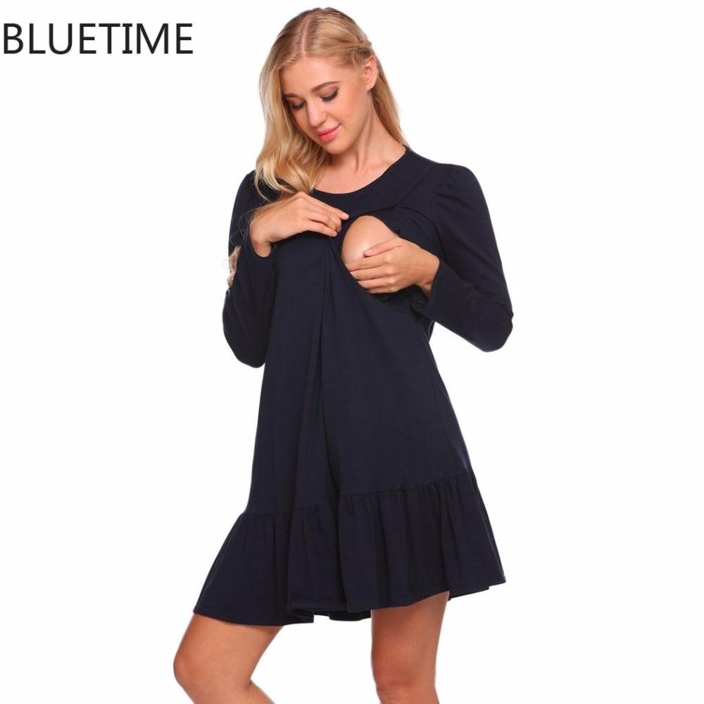 Popular Maternity Night Dresses-Buy Cheap Maternity Night Dresses ...