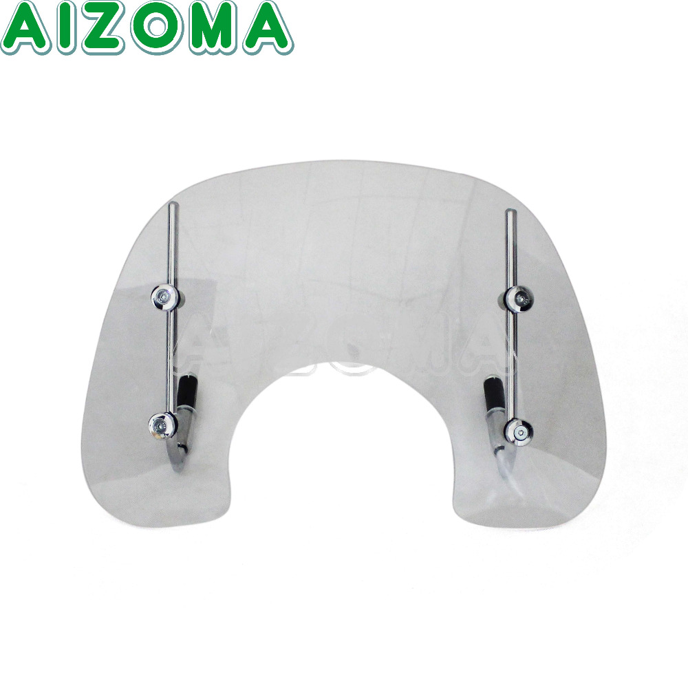 Clear Methacrylate Motorcycyle Protection Windshield WindScreen With Bracket Protector For VESPA LX150 VESPA LX50 2005-2014