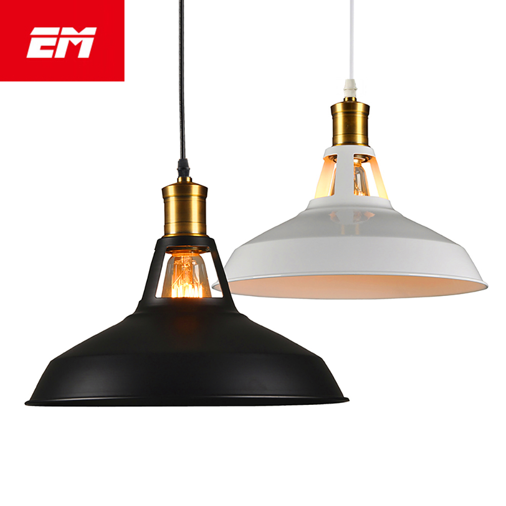 Vintage Pendant Lights Loft Pendant Lamp Retro Hanging Lamp Lampshade For Restaurant Home kitchen Lighting E27 light fixture galileo