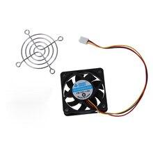 60 мм x 60 мм x 15 мм 3 контактный Вентилятор охлаждения w Металлические накладки на пальцы