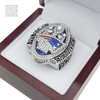 The Newest Official Release 2016 New England Patriots Super Bowl 51th MVP BRADY Championship Ring Size