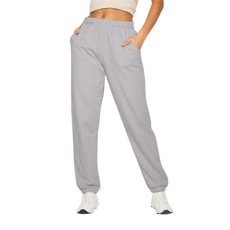 מכנסי טרנינג נשים מכנסי קז'ואל אמצע משקל מכנסיים Harajuku ספורט מכנסיים לנשים Loose מכנסיים Calca Feminina Wholesales 40SR7