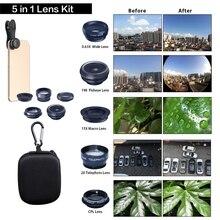 5 in 1 Telescopic telephoto Mobile phone lens