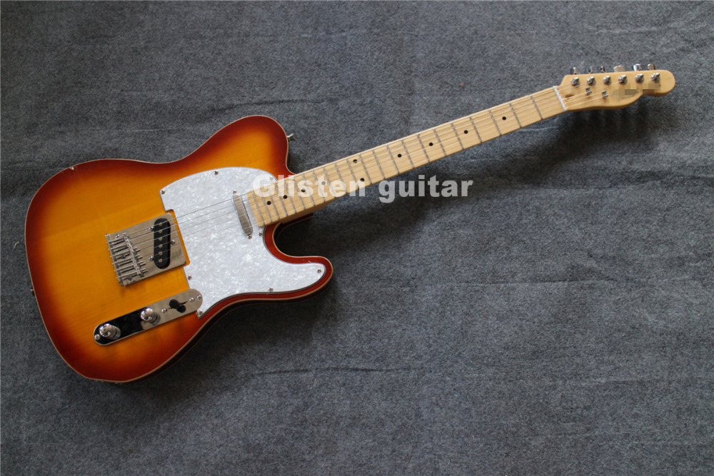 Top quality custom shop electric guitar, cheap factory guitar цена