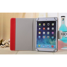 Tablet Shockproof Leather Stand Case Cover for IPad Samsung Etui huawei 10 inches Smart Magnetic Faux
