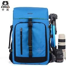 Black Fashion DSLR SLR Digital Camera Backpacks Crossbody Camera Backpacks Bags dslr waterproof bag CD50