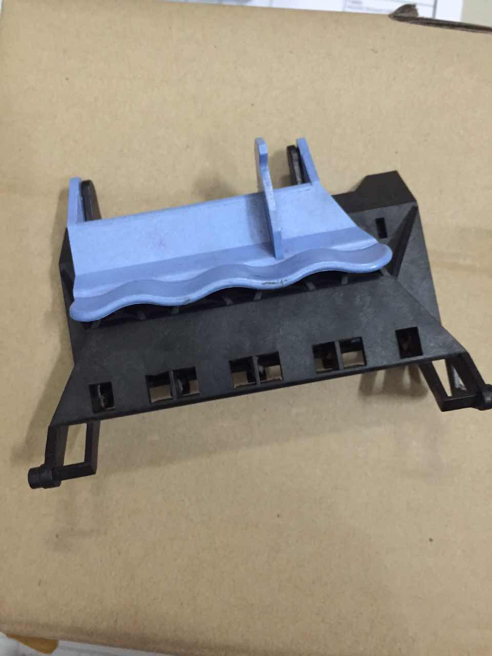 Carriage-Cover(Black + Blue) for HP DesignJet 500 510 800 C7769 C7779 PRINTER ink cartridges carriage station for hp 500 510 800 c7779 c7769 printer without detective board and blue cover