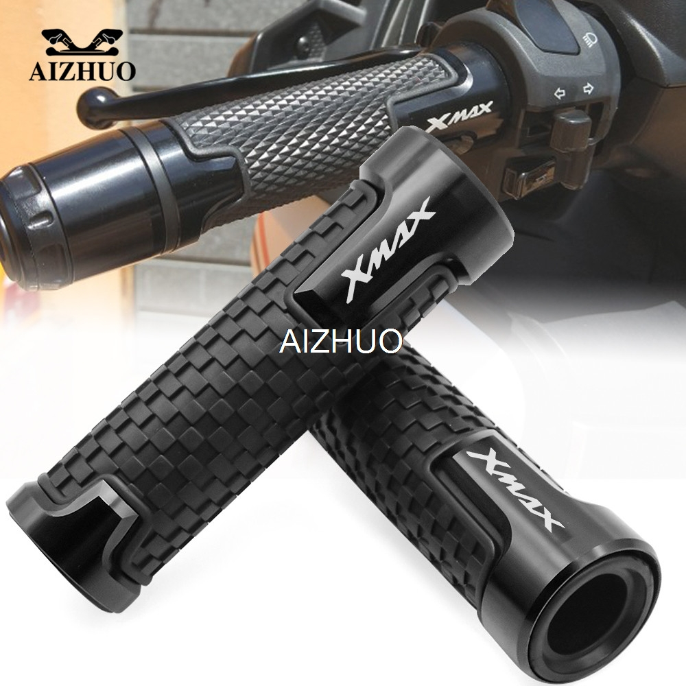 Motorcycle Accessories 22mm 7/8'' Brand New Anti-Skid Handle Grips Handlebar For Yamaha XMAX 125 250 300 400 X MAX 2017