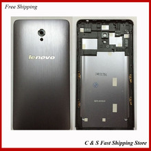 Original Matel Material Phone Shell Back Cover For Lenovo S860 Housing Battery Door Replacement