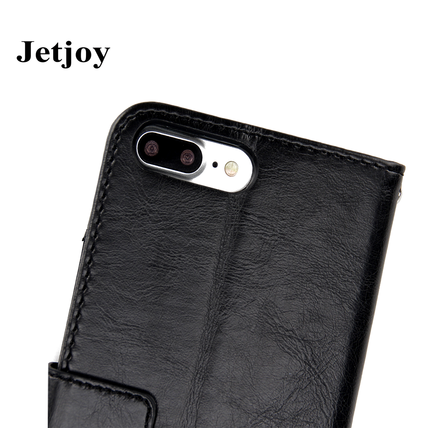 JETJOY 360 Degree Full Protection Scratch-Resistant Full Cover Phone Bag For Apple iPhone 7 Case Cover Wallet case Fundas Coque