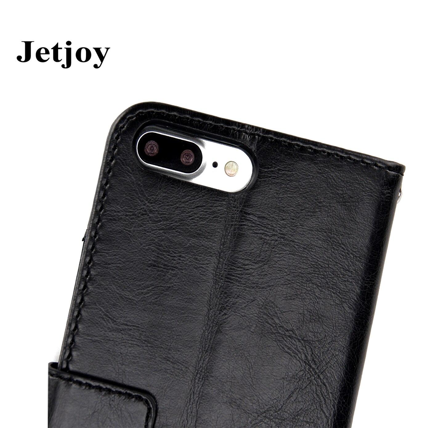 Jetjoy 360 градусов Полная защита царапинам полное покрытие телефон сумка для Apple iPhone 7 чехол бумажник чехол fundas Coque