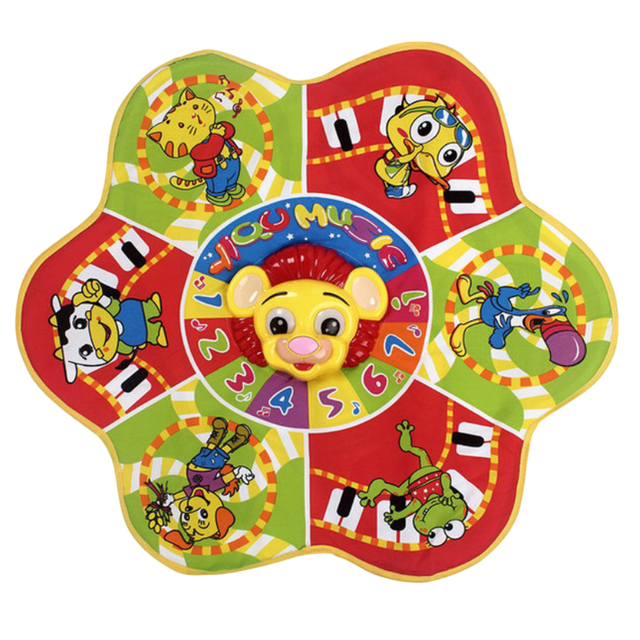 Дети Лев Музыкальный Сенсорный Играть Пение Ползать Коврик Ребенок Весело Детский Образовательные Игрушки