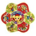 Crianças Leão Musical Toque em Reproduzir Cantando Mat Crawl Bebê Divertido Brinquedo Educacional da Criança