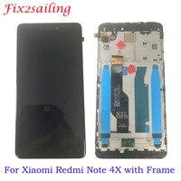 Новый ЖК-для Xiaomi Redmi Note 4x ЖК-дисплей с сенсорным экраном с рамкой для Redmi версия 4 глобальная версия lcd для Snapdragon 625