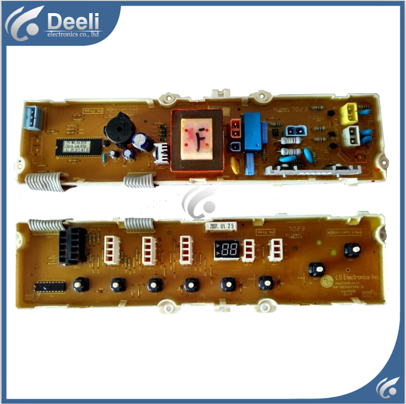 100% new good working for LG washing machine Computer board XQB60-W2TT XQB50-397SN 6870EN9015A XQB70-57SF motherboard 95% new original good working inverter washing machine board for xqb70 j85s xqb60 t85 xqb70 t85 xqb60 j85s on sale